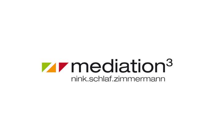 Logo: mediation³