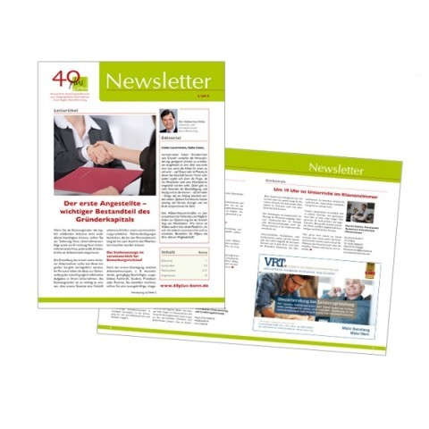 Newsletter: 40 plus