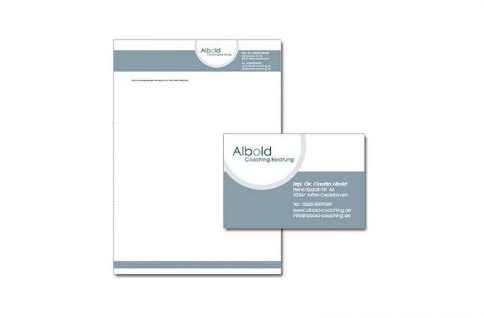Geschäftspapiere: Albold