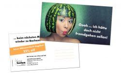 Postkarte: Coiffeur Bachem